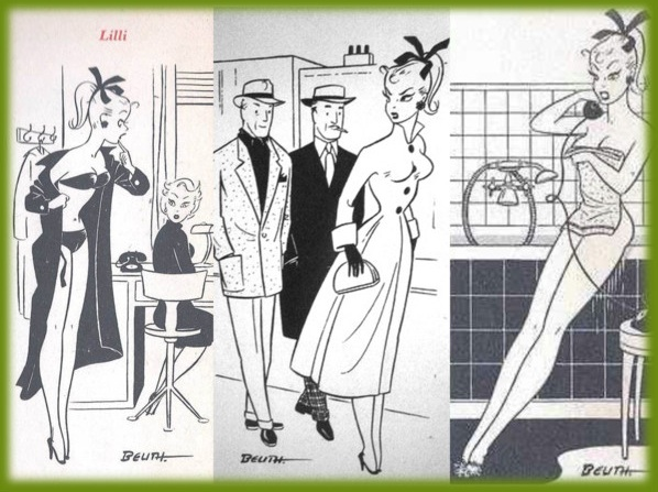 Bild lilli prostitute original comic strip