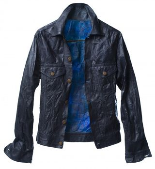 Suzanne lee biocouture cellulose kombucha clothing fashion denim jacket