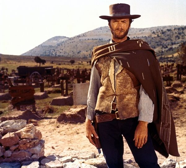 Clint eastwood good bad ugly western