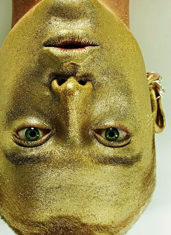 Philippe vogelenzang gold face