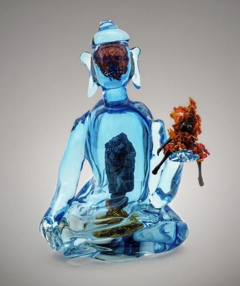 Joyce Scott-Buddha-Fire-Water