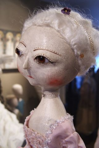 Antique fashion dolls