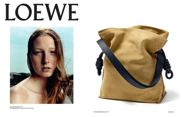 Meisel alex katz loewe fashion ad