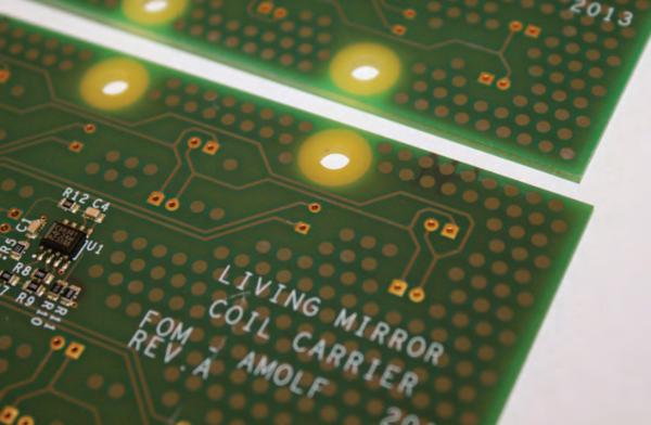 Living mirror project eindhoven bioart labs