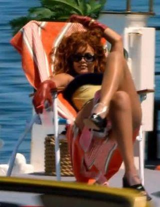 Rihanna margiela plastic plexi loafers