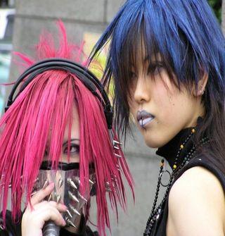 Japan harajuku anime fashion style