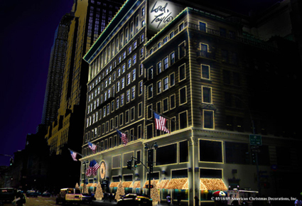 Lord & Taylor Holiday Lights