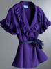 Purple Ruffle Vera Wang Blouse
