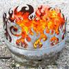 John T. Unger Beach Burner Firebowl