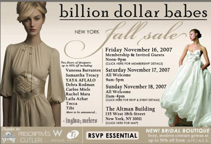 Billion Dollar Babes Invite