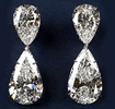 Harry Winston World's Most Expensive Earrings Pear Diamonds