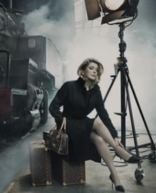 Catherine Deneuve Louis Vuitton Journeys Campaign Paris