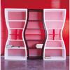 Karim Rashid Curvy Bookcases