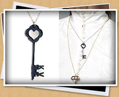 Key Pendant Necklace Fashion Accessories Must Haves