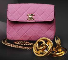 Pink Vintage Chanel Bag Purse Handbag Fashion Accessories Must Have