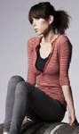 Red Waffle Henley