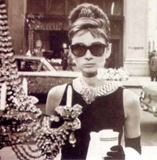 Audrey Hepburn Breakfast at Tiffany Rayban Wayfarer Sunglasses