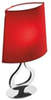 Manuel Vivian Flat-Pressed Cartoon Slight Light Table Lamp Furnishings Home Decor Red Lamps Red Lampshades
