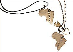 Help Darfur Now Silver Pendant Jane Diaz Fashion Accessories Gift Gifts Gift Ideas