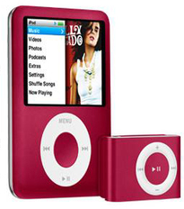 Product Red iPod nano Global Fund Fight HIV AIDS Gift Gifts Gift Ideas