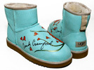 Celeb Uggs for Charity Cindy Crawford