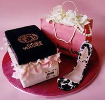Confetti Cakes Shoe Cake