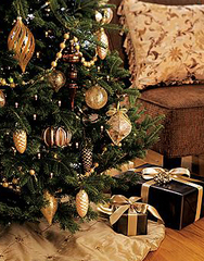 Holiday Tree with Presents Gift Ideas