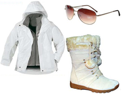 White Ski Suit Chic Winter Ski Fashion Must Haves