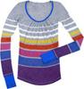 Striped Collegiate Sweater Stripey Knits Cozy Sweaters