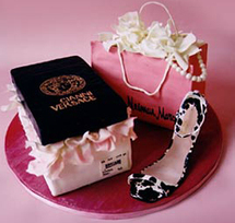Shoe Themed Cake