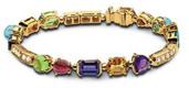 Bulgari Bvlgari Colored Coloured Gemstone Bracelet