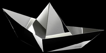 Aldo Cibic Paola C Silver Boat Vanity Box Holiday Luxury Gift Idea