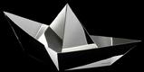 Aldo Cibic Silver Boat Vanity Box