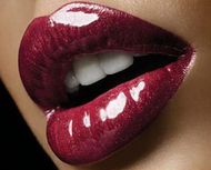 Glossy Red Lipstick Lip Holiday Evening Makeup Tips