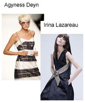 Agyness Deyn Irina Lazareanu Model War