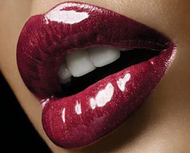Glossy Luscious Red Lips Holiday Makeup