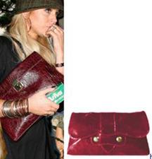 Lindsey Lohan Oversized Clutch