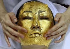 UMO 24k gold facial