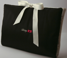 Silk Lingerie Travel Bag Fashionista Gift