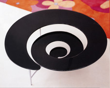 Spiral Table Cattelan Italia Ca' Nova Design