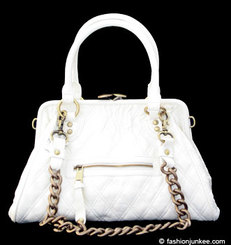 White Marc Jacobs Stam Bag Lookalike Vegan Fashion Accessories Bags Handbags Purses