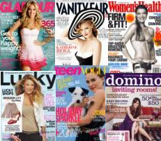 Discount Fashion Beauty Magazine Subscriptions