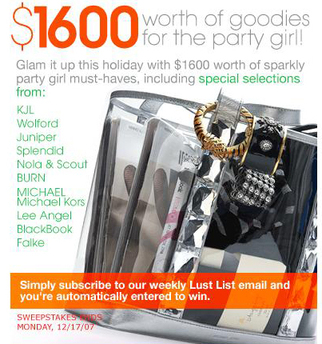Fashion Accessories Giveaway Intermix