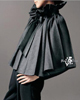 Pleated Wool Cape Fashion Must Haves Blanc de Chine