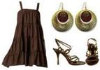 Trapeze Dress Stilettos Party Dress