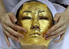 24k Gold Leaf Facial World's Most Expensive Facial