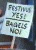 Festivus Sign Bagels No Festivus Yes Kramer Seinfeld