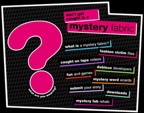 Cotton Inc Mystery Fabric Fashion Parody
