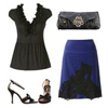Pencil Skirt Date Look Fashion Contest