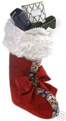 Holiday Stocking Oscar de la Renta